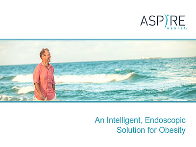 SynMed Introduces the AspireAssist a New Approach to Weight Loss